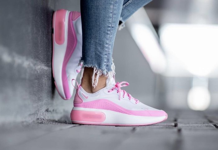 【Cheers】Nike Air Max Dia 全粉白 白桃 白粉 女鞋 歐美限定 女鞋