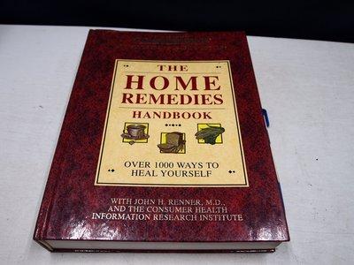 【考試院二手書】《The HOME REMEDIES Handbook》│John H.Renner│ (B11Z62)