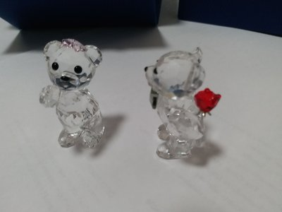 Swarovski Crystal kris bear 2017 A Lovely Surprise MIB