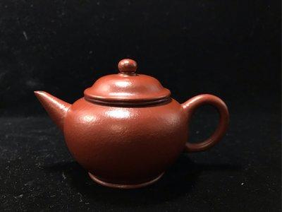 [壺中福]大紅袍朱泥 標準壺 單孔 200cc