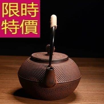 日本鐵壺-品茗回甘水甘潤必備茶壺63f14[日本進口][米蘭精品]