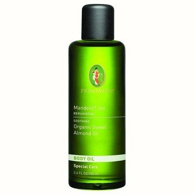 Primavera 有機甜杏仁油 100ml,Organic Sweet Almond Body Oil