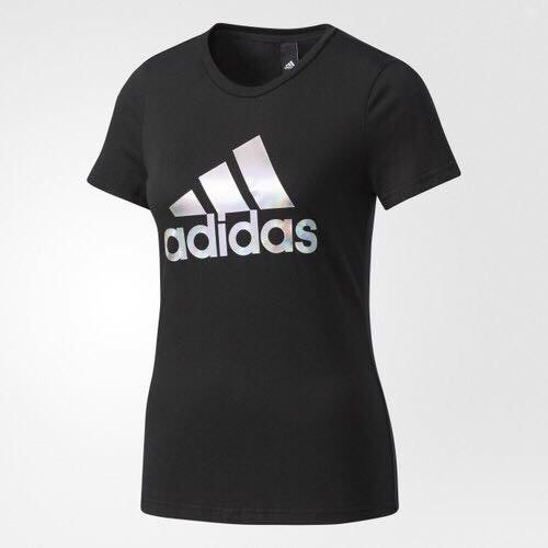 Look 鹿客 adidas ID 女 短袖上衣 CF3903
