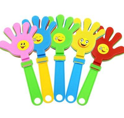 拍手道具 微笑拍拍手 手掌拍 鼓掌拍 活動 演唱會 助威道具 24cm拍手用品
