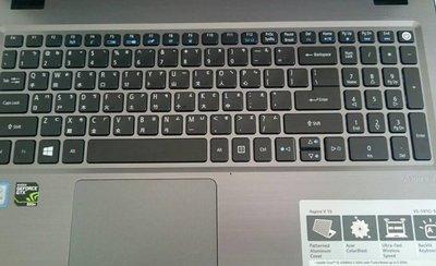 *金輝*宏基ACER Aspire V15 V5-591G 鍵盤保護膜 硅膠鍵盤膜 筆電鍵盤防塵蓋 嘉義縣