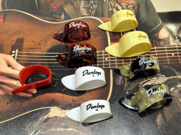 ☆ 唐尼樂器︵☆ Dunlop 古典吉他/木吉他/民謠吉他/電吉他/電貝斯用姆指/指套 Pick /彈片