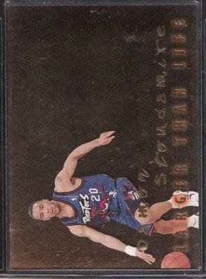 96-97 SKYBOX PREMIUM LARGER THAN LIFE #B18 DAMON STOUDAMIRE