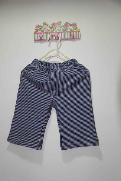 韓版直條棉褲