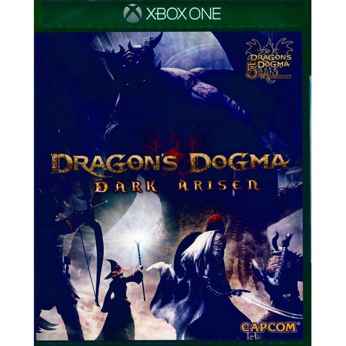(現貨全新) XBOX ONE 龍族教義:黑暗再臨 中英亞版 Dragon's Dogma: Dark Arisen