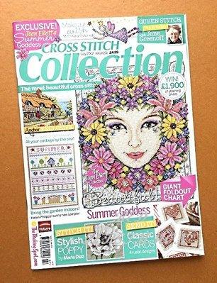 紅柿子【英文彩色版•CROSS STITCH collection 十字繡作品集 Issue 211】全新.