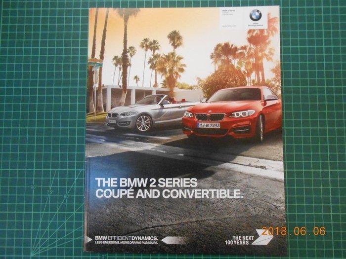 《 THE BMW2 SERIES COUPE 轎跑車轉換精美型錄》 95成新【 CS超聖文化2讚】