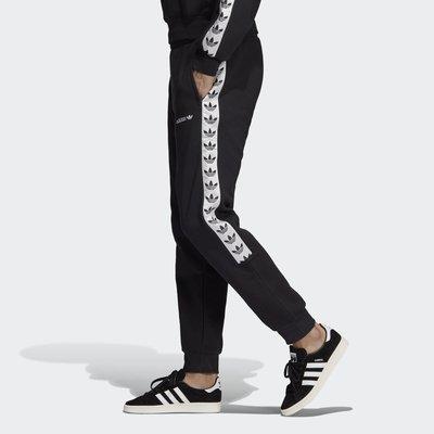 Look 鹿客 adidas 男款 休閒 復古 縮口 運動長褲 DX1299