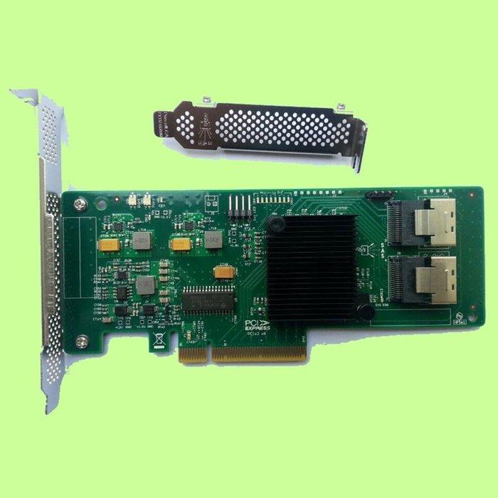5Cgo【權宇】LSI SSD 9211-8I 2008-8I RAID擴展陣列卡 含SAS或SATA數據線選兩條 含稅