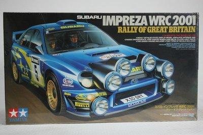 【統一模型玩具店】TAMIYA 田宮 《SUBARU車系 IMPREZA WRC 2001》 1:24 # 24250