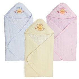 [Family生活館] 黃色小鴨 提花夏季包巾