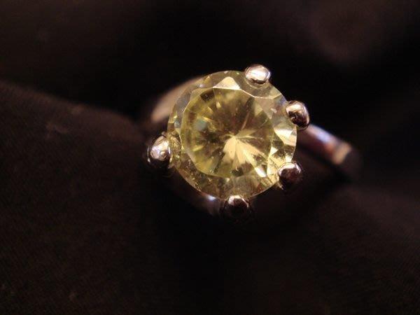 全新美國Shemoni Jewellery 925純銀鑲方晶鋯石Cubic Zirconia仿手扶鑽戒指,無底價!免運!