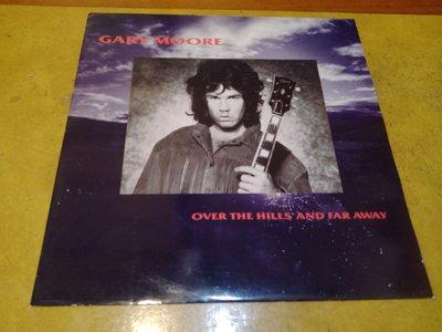 12吋混音單曲黑膠唱片《Gary Moore – Over The Hills And Far Away 》英版、45轉