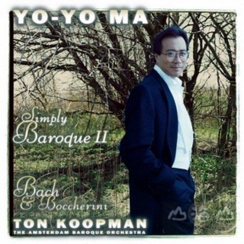 城市樂章巴洛克Simply Baroque II /馬友友Yo-Yo Ma---88697561422