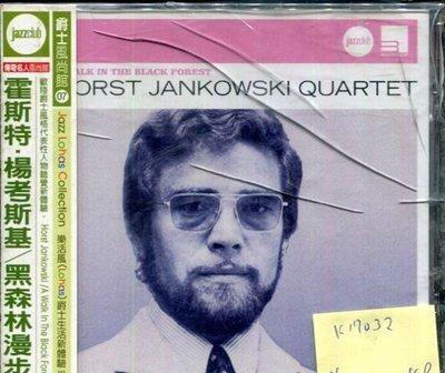*真音樂* HORST JANKOWSKI / A WALK IN THE BLACK F 全新 K17032 (殼破)