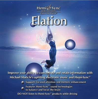 [心靈之音] 興高采烈 Elation-美國孟羅Hemi-Sync雙腦同步CD美國原裝進口公司貨