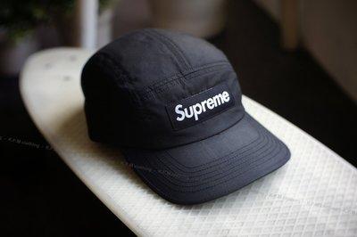 【 K.F.M 】Supreme Barbour Waxed Cotton Camp Cap 英國皇家品牌聯名 油布材質