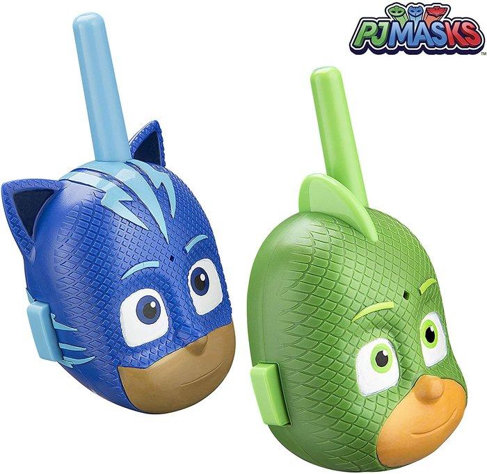 預購 美國帶回 PJ MAKS 睡衣小英雄 無線對講機 生日禮 親子玩具 聖誕禮 親子同樂