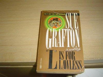 G10-5好書321【推理小說】L is for Lawless - Sue Grafton