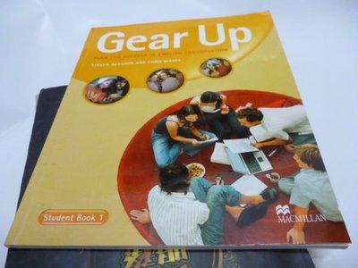 買滿500免運/崇倫舊書坊=有光碟《Gear Up 1》ISBN:1405060425│禮筑│Gershon S Et Al