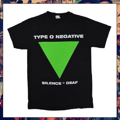 【三分之二】TYPE O NEGATIVE Silence=Deaf //復古潮流/Band/Tee