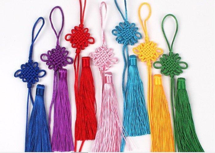 【螢螢傢飾】結飾+流蘇。中國結線材,包裝工藝,多色可選,縫紉配件,吊飾,復古裝飾,包包配飾,婚禮小物。