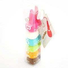 【日本人氣商品】日本 Baby Color 幼兒無毒蠟筆 粉嫩甜蜜色 (6色入)