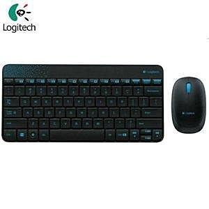 【全新含稅】羅技 Logitech 羅技 無線滑鼠鍵盤組 MK240黑色 無線鍵鼠
