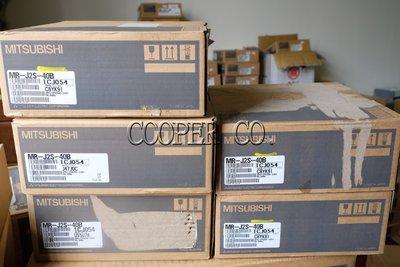 【Cooper.Co】Mitsubishi 三菱 MR-J2S-40B NEW 伺服控制器 中古 新品 現貨