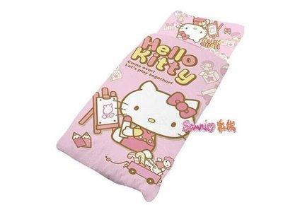 《東京家族》hello kitty 小畫家 睡袋組 寢具 棉被 露營用品