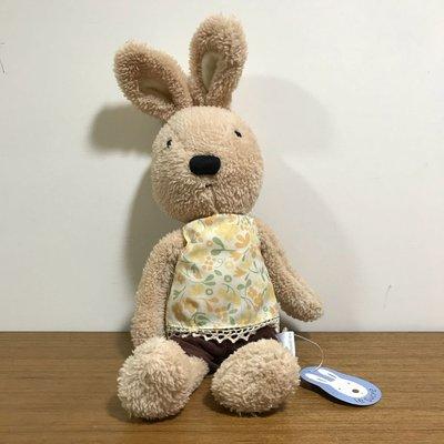 法國兔 砂糖兔 le sucre 黃兔 黃花上衣(中)