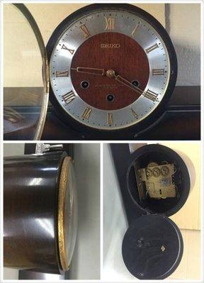 [舊 是 經 典 ^_^]SEIKO 發條機械座鐘 置時計WESTMINSTER CHIME 7 JEWELS