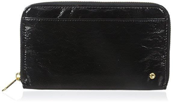 全新真品 LeSportsac Signature Chrissy Wallet #2100  長夾p700黑色亮皮