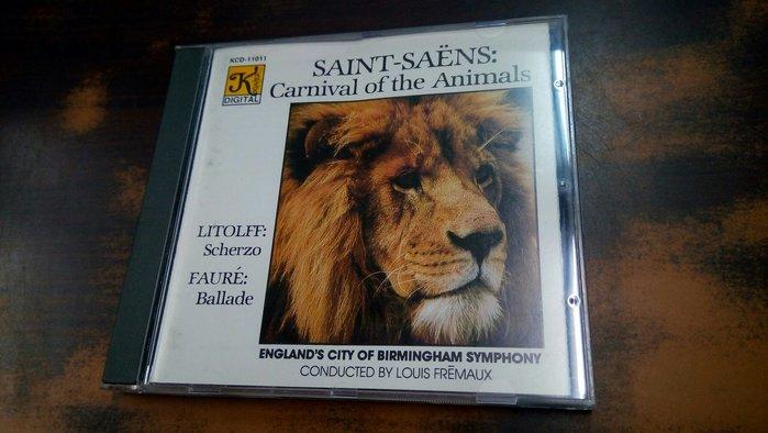 好音悅 老K 大K Klavier Saint-Saëns 聖桑 carnaval 動物狂歡節 USA美版 無IFPI