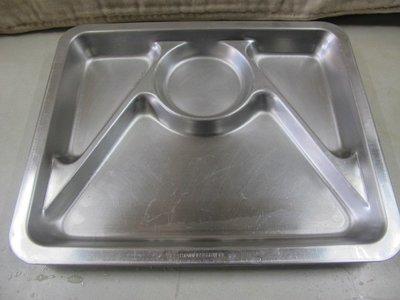 二手舖 NO.3427 四格不鏽鋼餐盤 不鏽鋼冰淇淋勺 挖冰勺