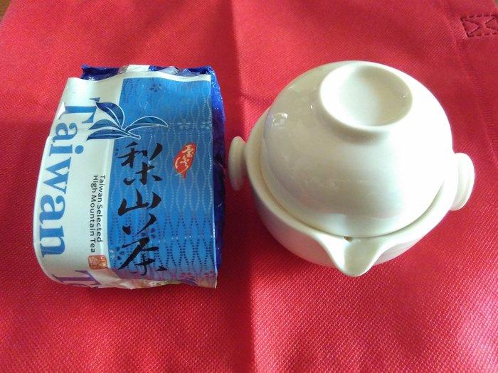 快意杯及台灣梨山高山茶(四兩)(春勇茶廠)茶葉組合
