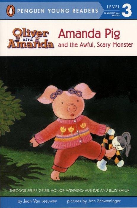 *小貝比的家*AMANDA PIG AND THE AWFUL, SCARY MONSTER/L3/平裝7~12歲第三階