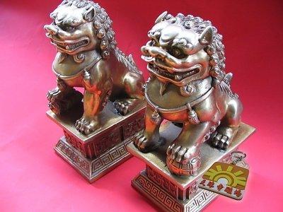對獅子銅器驅邪鎮魔迎福納喜中國騎獅羅漢 文殊菩薩之座騎獅子吼更顯神威中國吉祥圖騰