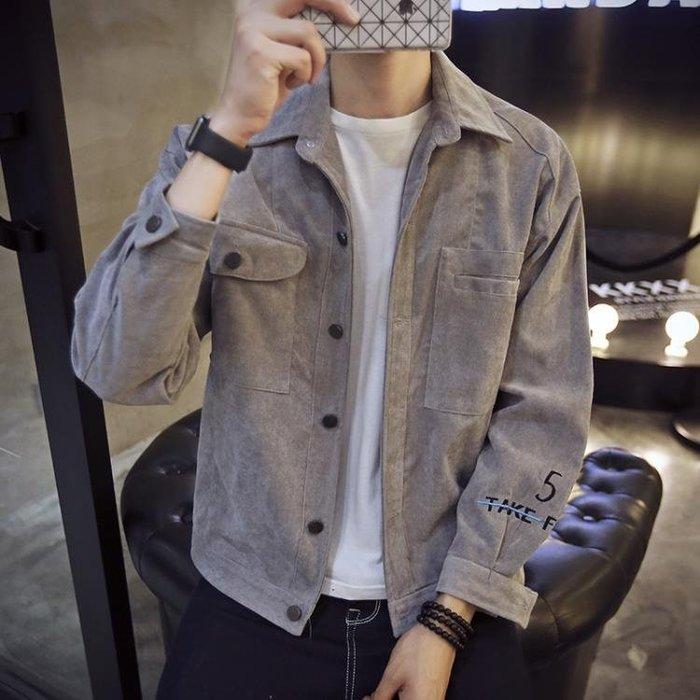 牛仔衣春季男士新款牛仔外套春秋帥氣夾克學生韓版潮流百搭衣服男裝99免運 二度