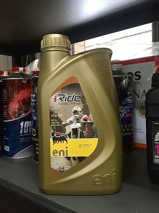 【油品味】eni i-Ride racing offroad 4T 10W50 10w50 MA2 阿吉普 機車機油