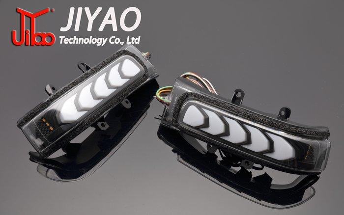 【吉燿部屋】TOYOTA 2008~2012 RAV4 燻黑版 序列式 跑馬燈 流水 後視鏡 後照鏡 方向燈