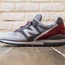 【紐約范特西】現貨 New Balance M996GK 美國製 灰 酒紅 996 麂皮 男鞋 慢跑鞋 7~10.5