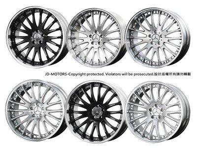 JD-MOTORS 日本原裝TWS EXspur EX-FM 19.20吋鍛造鋁圈 另有國內製造鋁圈
