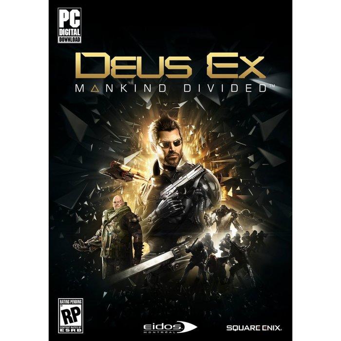 PCGAME-Deus Ex: Mankind Divided 駭客入侵 人類岐裂(英文版)