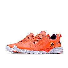 D-BOX  Reebok ZPUMP FUSION 女鞋 橘色 輕量 慢跑鞋