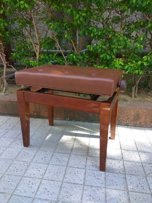 B47∮有琴有藝@日本style全新鋼琴分段型升降椅yamaha.kawai咖啡色台灣製造